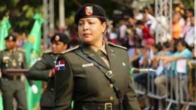 Photo of Primera mujer que comanda batallón del Ejército dominicano