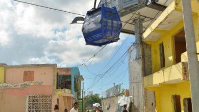 Photo of Video. Residentes de Gualey dicen cabinas del Teleférico casi rozan sus casas