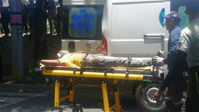 Photo of Guagua choca motorista y lo deja gravemente herido en la César Nicolás Penson