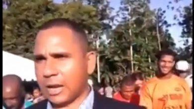 Photo of Video: Síndico de comunidad de Arenoso inaugura cementerio y dice «esperamos que vengan gente para acá»