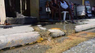 Photo of Años de desperdicio de agua en el 13 de Carretera Sánchez