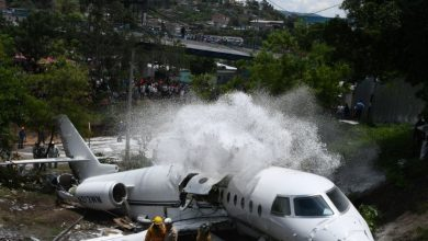 Photo of Se accidenta avión privado en aeropuerto de capital hondureña