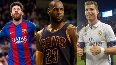 Photo of Cristiano, LeBron y Messi, los deportistas más famosos del mundo; lista no incluye peloteros