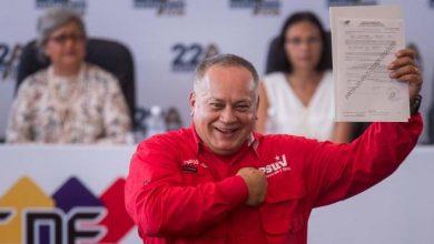 Photo of EE.UU. impone sanciones contra el dirigente venezolano Diosdado Cabello