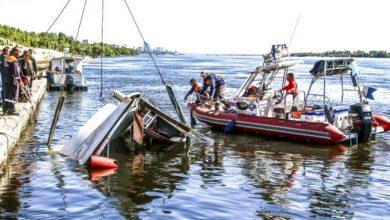 Photo of Once muertos al chocar botes cerca de una sedes de la Copa Mundial en Rusia