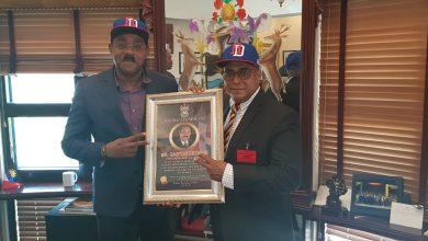 Photo of Ministro de Antigua y Barbuda agradece apoyo del Gobierno del presidente Medina y recibe placa de reconocimiento de Alcaldía de Pedro Brand