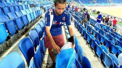 Photo of Fanáticos de Japón limpian el estadio ruso tras concluir el partido