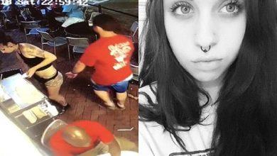 Photo of Video: Le agarraron la nalga y le dio lo suyo