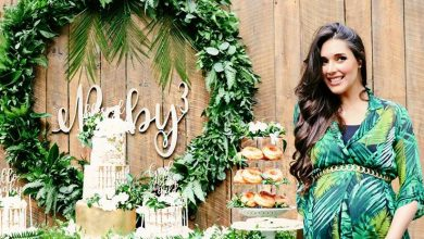 Photo of Amelia Vega celebra baby shower de su tercer bebé