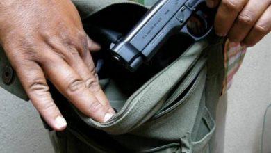 Photo of Ministro: «Hay que eliminar el porte de armas de fuego»
