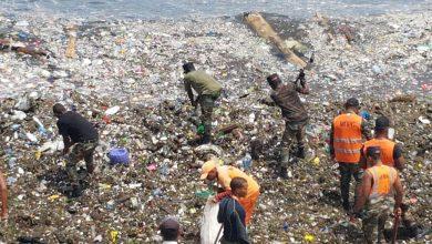 Photo of Brigadas de Obras Públicas continúan por sexto días consecutivos recolección de desechos sólidos en el Malecón