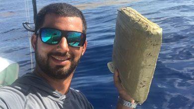 Photo of Fotógrafo encuentra alijo de marihuana flotando en costa de Florida