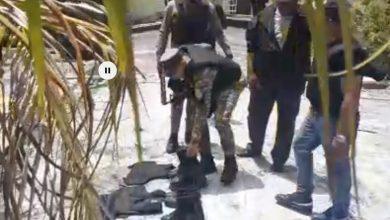 Photo of Hallan pertrechos militares en tinaco próximo a vivienda allanada el sábado