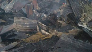 Photo of Muere hombre durante fuego que destruyó 10 casas en Jarabacoa