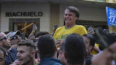 Photo of FUERTE VIDEO: Apuñalan en Brasil al candidato presidencial Jair Bolsonaro