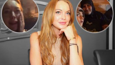 Photo of Vídeo:  Lindsay Lohan intenta «secuestrar» niño árabe y es golpeada por su madre