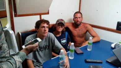 Photo of Armada Dominicana rescata a tres estadounidenses en alta mar.