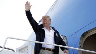 Photo of Trump visita zonas afectadas por Florence y promete «cien por ciento» de ayuda