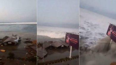 Photo of Un tsunami azota una ciudad de Indonesia tras seísmo de 7,5 grados.
