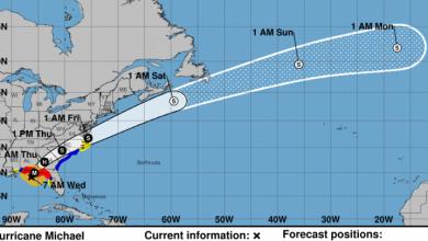 Photo of Huracán Michael avanza hacia el noroeste de Florida con vientos reforzados.