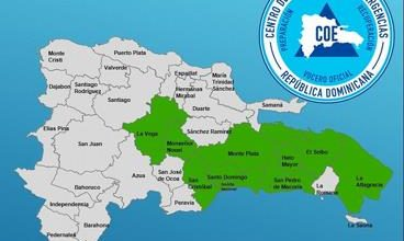 Photo of COE emite alerta para ocho provincias y el Gran Santo Domingo