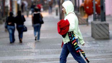Photo of Frente frío al norte del país causará chubascos y temperaturas frescas