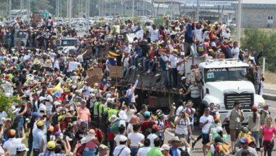Photo of Oposición de Venezuela asegura han logrado introducir en Venezuela 50 toneladas de ayuda humanitaria.