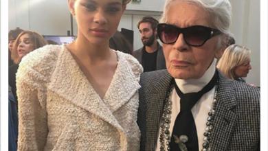 Photo of Modelos criollas que desfilaron para el diseñador de Chanel Karl Lagerfeld