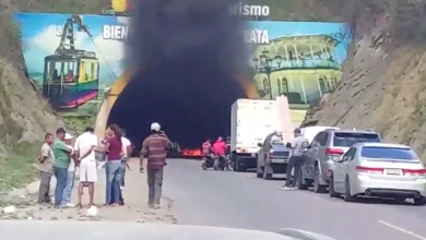 Photo of Se incendia yipeta dentro de túnel a la entrada de Puerto Plata