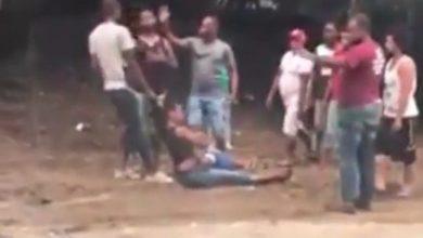Photo of Mujer con niño en brazos es agredida por un hombre en SJM.