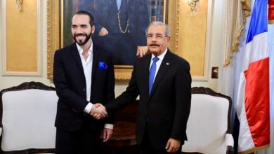 Photo of Danilo Medina va mañana con 8 funcionarios a toma de posesión del presidente de El Salvador.