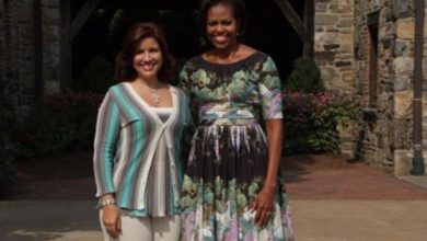 Photo of Michelle Obama elogia labor de Margarita Cedeño.
