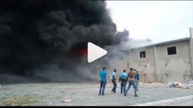 Photo of Se registra incendio en fábrica de colchones Acolchado Todo Hogar.