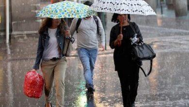 Photo of Pronostican más lluvias en gran parte del territorio nacional.