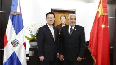 Photo of Presidente Cámara de Diputados recibe a vicepresidente de la Asamblea Popular Nacional de China.