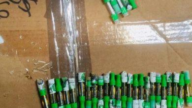 Photo of Decomisan en el AILA 29 cápsulas rellenas de aceite de marihuana.