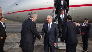 Photo of Presidente llega a Guatemala; tratará con otros mandatarios temas sobre democracia, libertad y seguridad.
