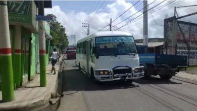 Photo of Hieren de tres balazos a vigilante en intento de asalto en terminal ruta A de San Cristóbal.
