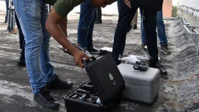 Photo of Descubren drones vigilando desde la azotea del Congreso.