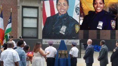Photo of Develan mural y placa en memoria a policía dominicana asesinada en 2017 en El Bronx.