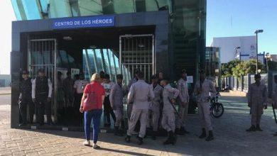 Photo of Vigilancia policial y militar en inmediaciones del Congreso llega hasta la entrada del Metro.