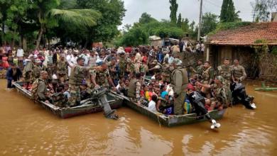 Photo of Suben a 156 muertos y un millón de evacuados por lluvias en el sur de India.
