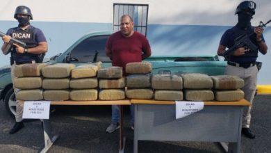 Photo of Apresan a El Gordo con 205 libras de marihuana en Los Frailes.