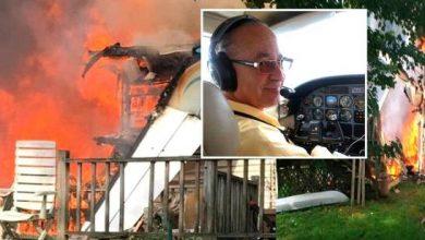 Photo of Destacado abogado y piloto dominicano muere al caer su avioneta sobre una vivienda.