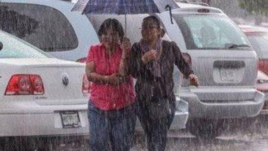 Photo of Continuarán aguaceros en varias provincias de RD por incidencia de vaguada.