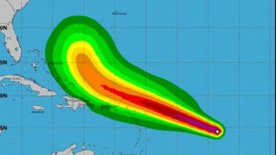 Photo of Aguaceros se extenderán a casi todo el país y continúan vigilando la tormenta Jerry.