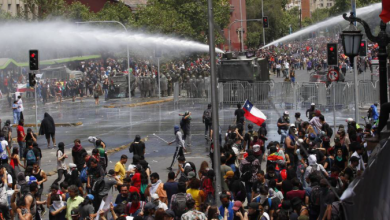 Photo of Manifestaciones no cesan en todo Chile.