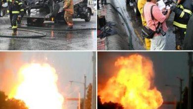 Photo of Vehículo se incendia en la avenida Máximo Gómez.