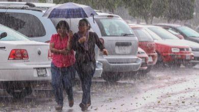 Photo of Los aguaceros con viento seguirán; mantienen alerta en 19 provincias.