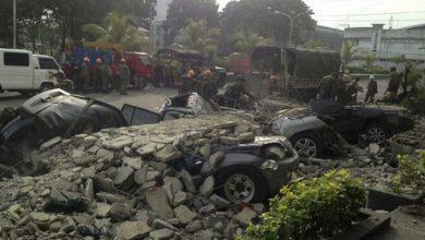 Photo of Al menos 5 muertos y 70 heridos por un seísmo de magnitud 6,6 en el sur de Filipinas.